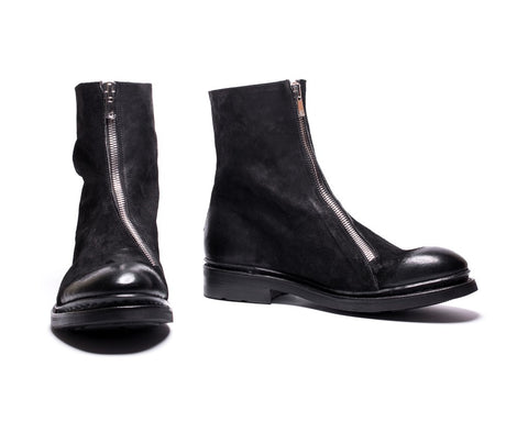 Magne leather boots
