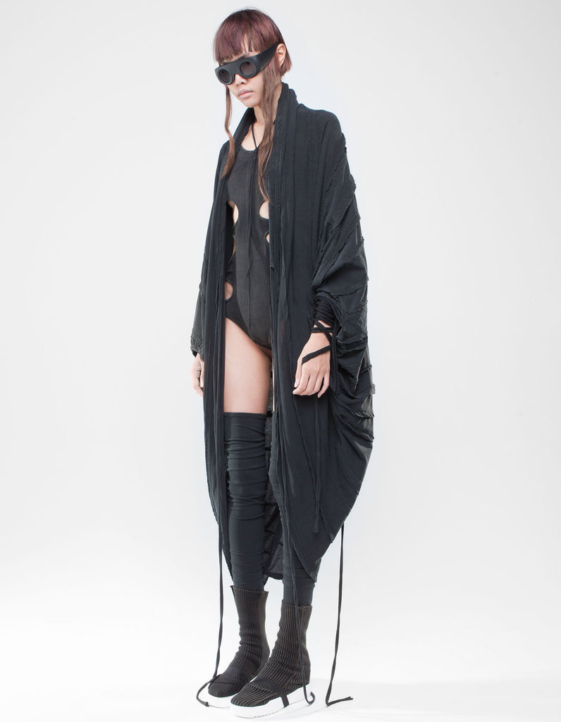 Bat Oversize Higher Self cardigan