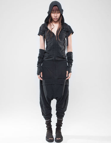 Higher self hooded overall