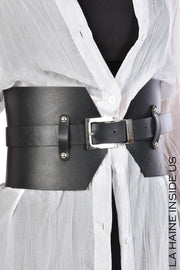 Alfa leather belt