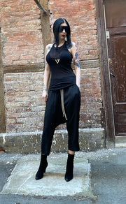 Rick Owens Cropped drawstring pants