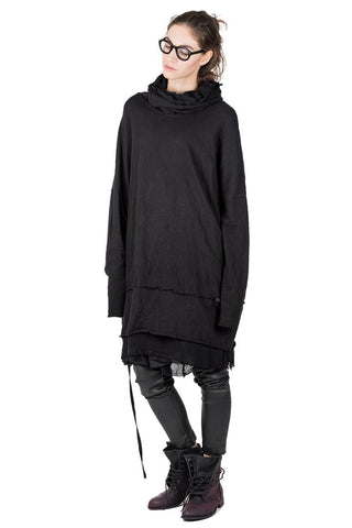 Adamia funnel neck dress