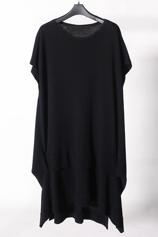 Julius folding cut oversized tee