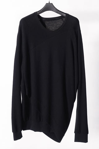 Julius draped back sweater