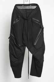 JULIUS Cropped zip pocket pants