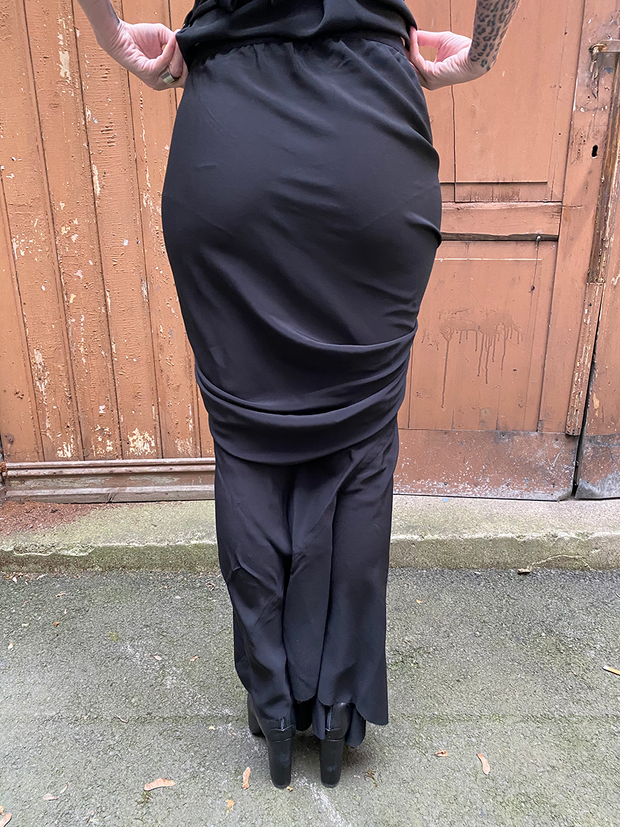 Rick Owens Draped seb skirt