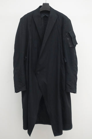 JULIUS Long tailored coat
