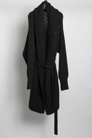 JULIUS Oversized wool cardigan