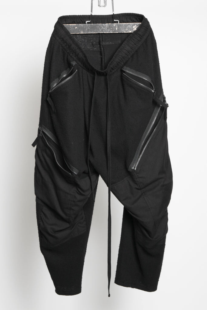 JULIUS Cropped zip pockets pants