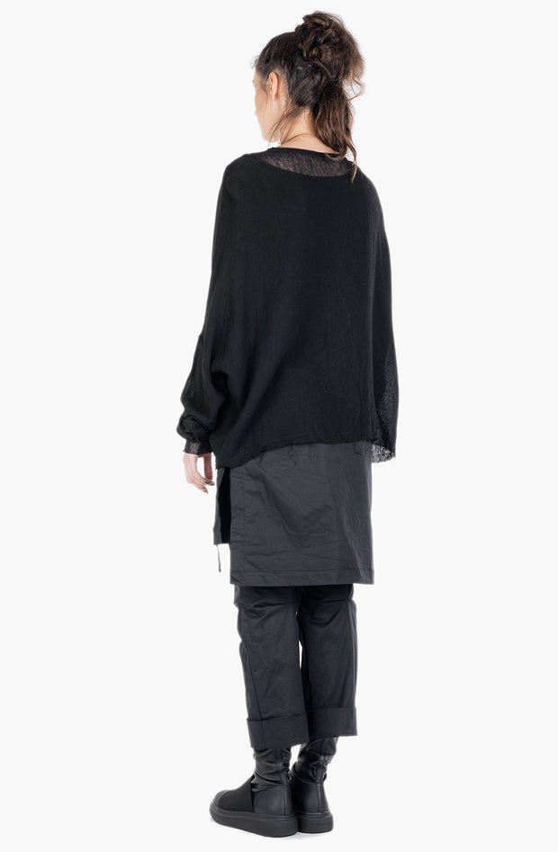Entina oversized wool blend tunic