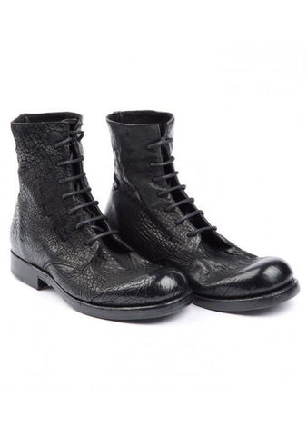Bergljot reversed leather boots