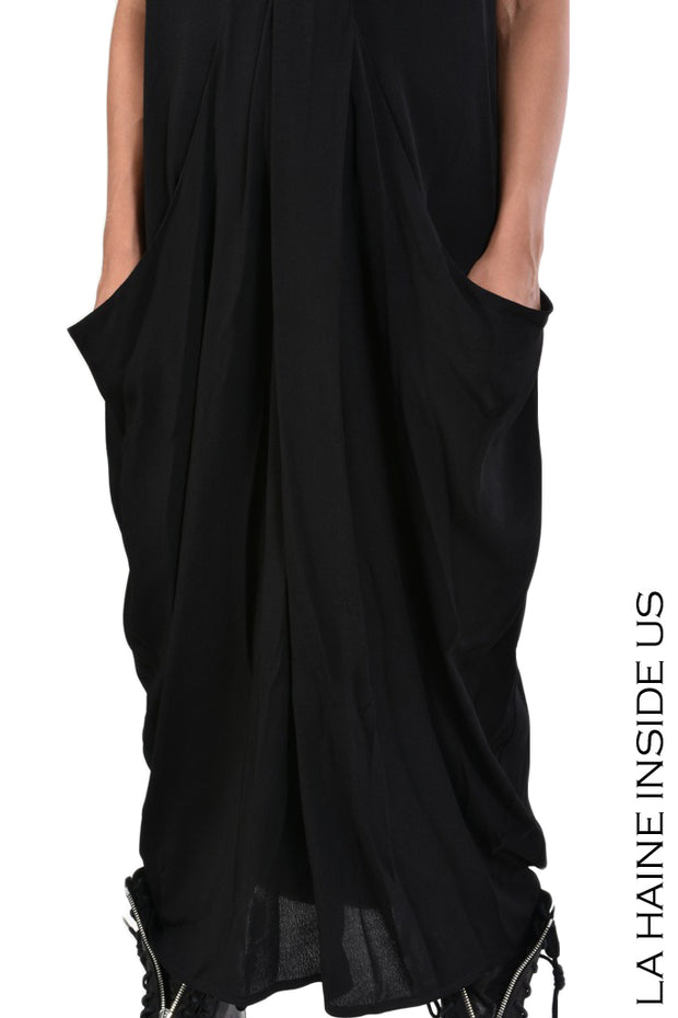 Atina viscose crepe dress