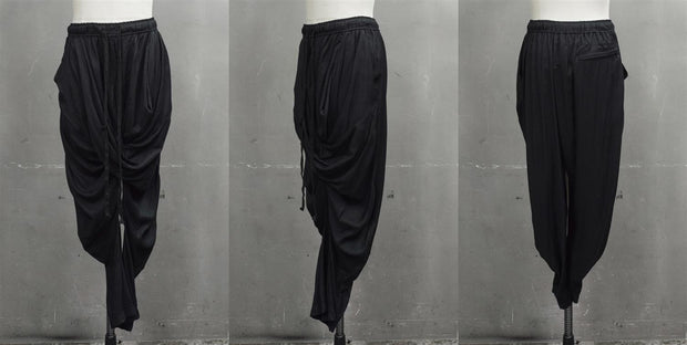 Julius draped woven pants