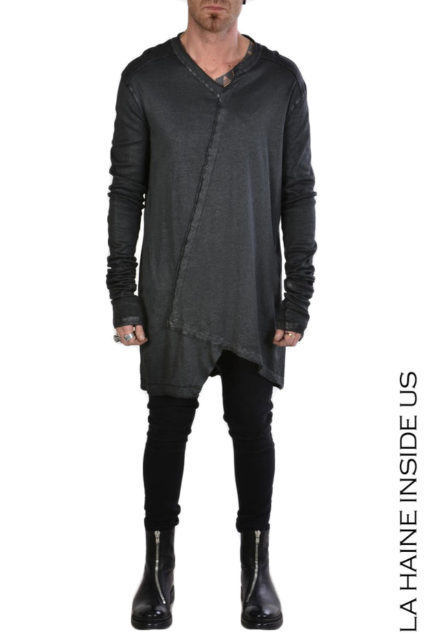 Furia asymmetric sweater