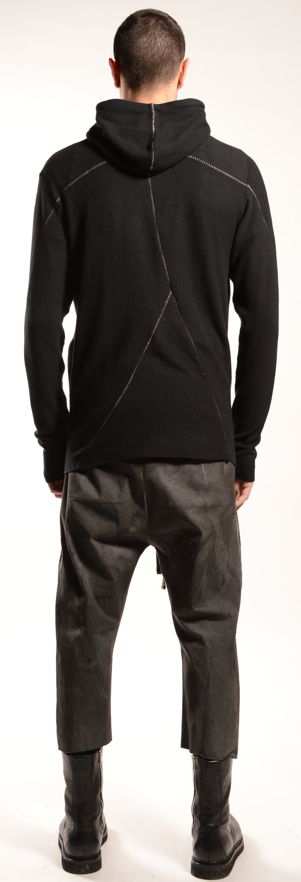 Soft viscose fleece hoodie