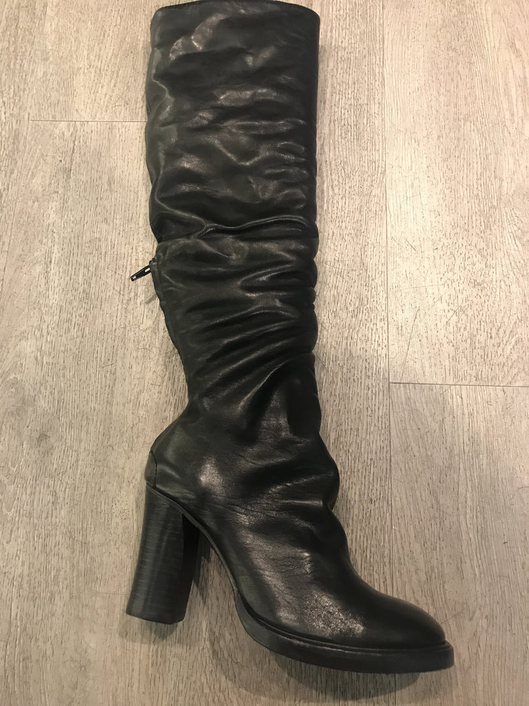 Zita tall leather boots
