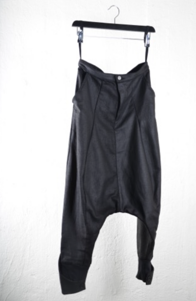 Agony drop crotch trousers