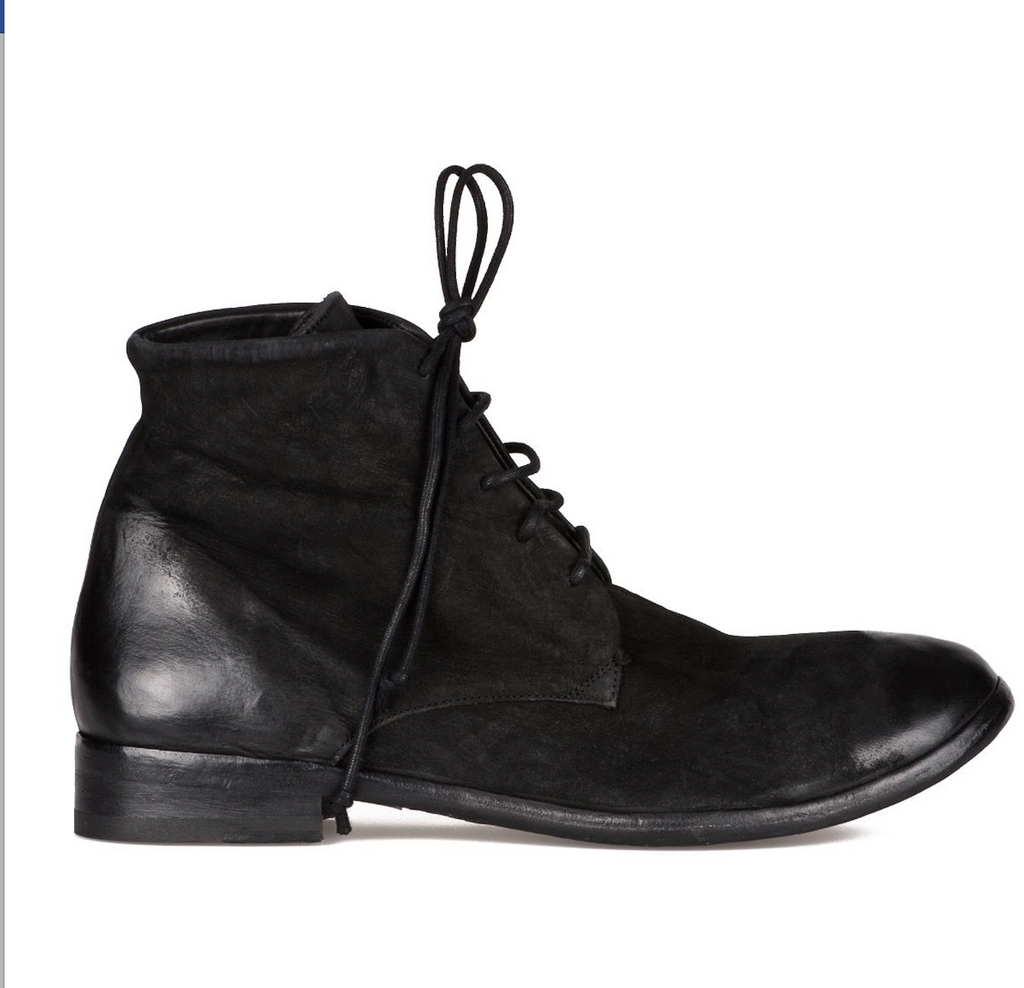 Ermanno matte horse leather boots