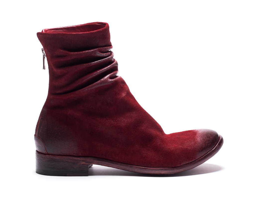 Dabi waxed suede boots