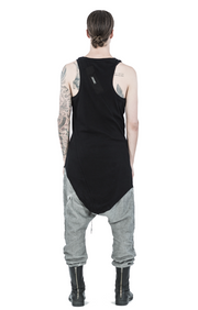 Ribbed slim singlet