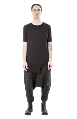 Double layered asymmetric tee