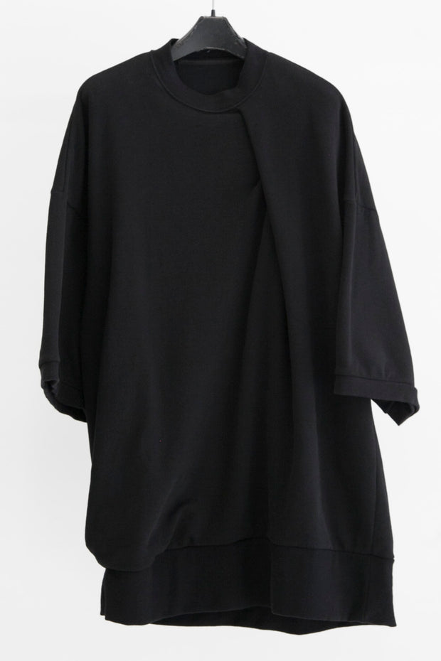 JULIUS Draped oversized tee