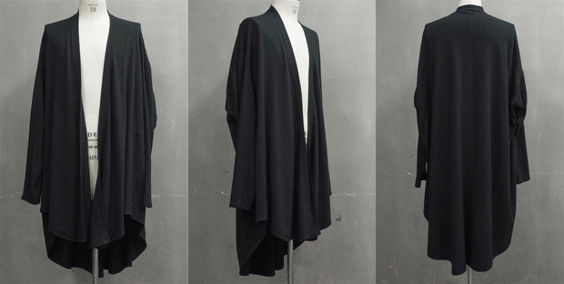 Julius Draped asymmetric cardigan