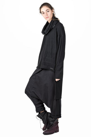Raval wrap drop crotch pants
