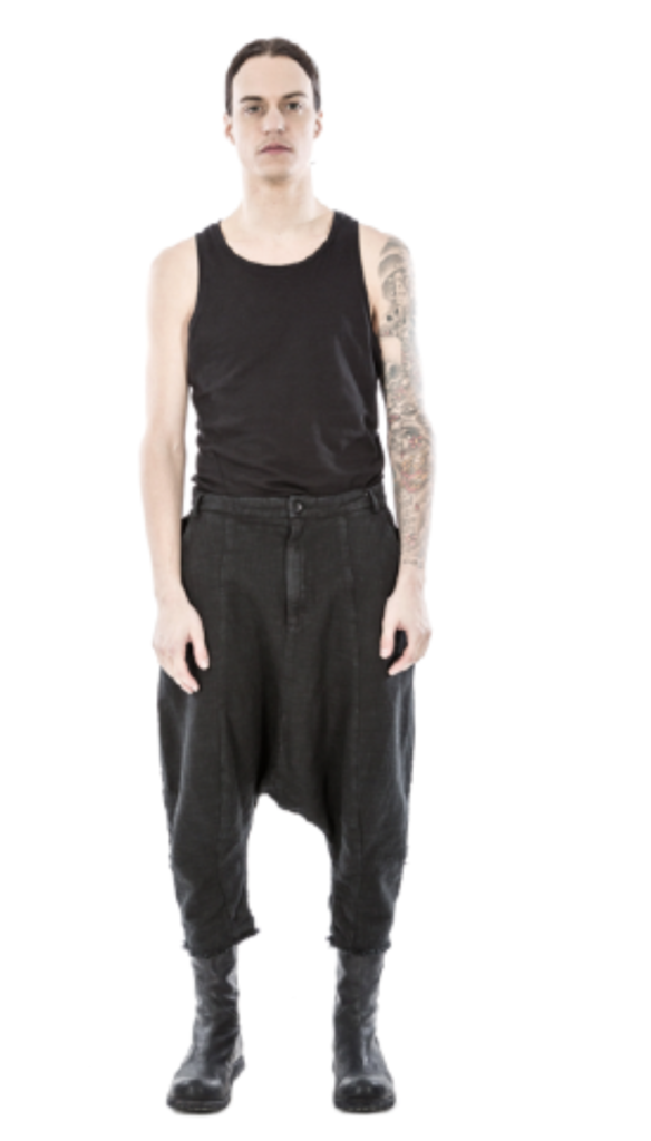 Cropped stash trousers