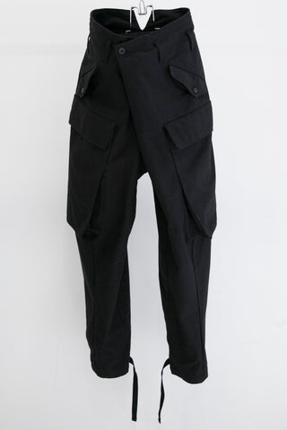 JULIUS Folded large pocket cargo pants