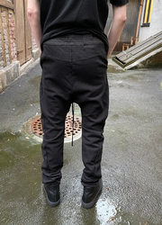 JULIUS drop crotch pants