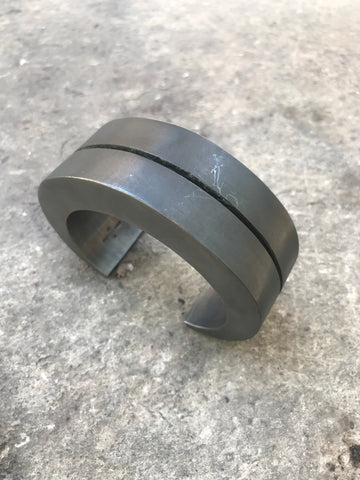 Crescent crevice v2 30mm bracelet