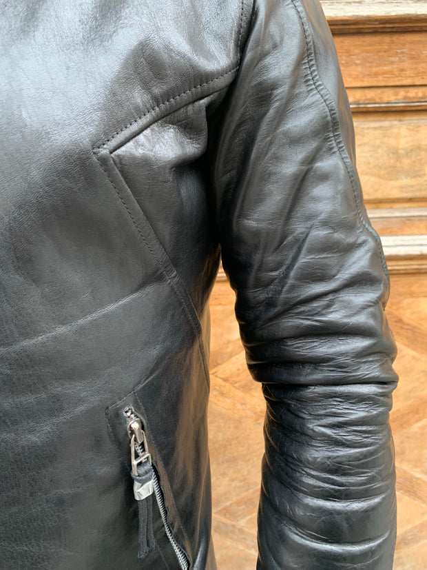 Leon Louis x HEVN Limited Edition PELLIS leather jacket