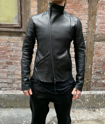 Distortion Aviator horse leather jacket
