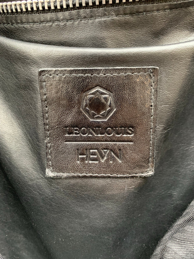 Leon Louis x HEVN Limited edition TENEBRIS leather tote