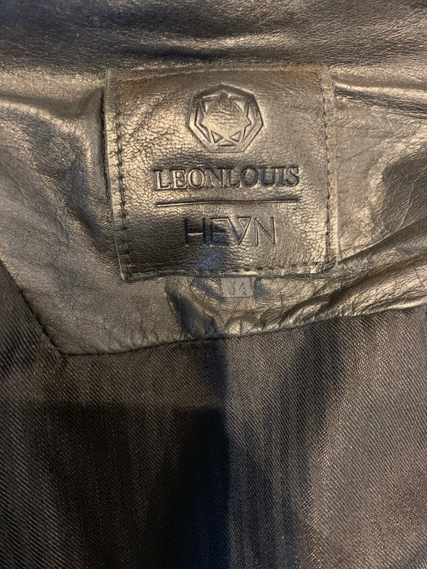 Leon Louis x HEVN Limited edition IACIT leather jacket