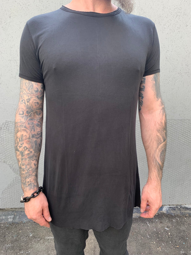 A-shaped wide tencel tee