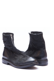 Magne matte leather boots