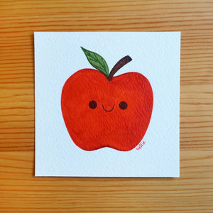 Little Apple Friend - Mini Painting