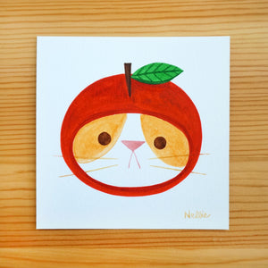 Apple Hat 3 - Mini Painting