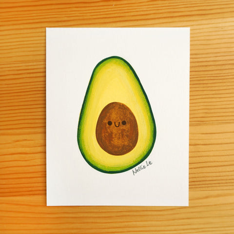 Little Avocado - Mini Painting