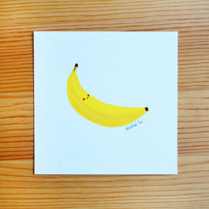 Banana - Mini Painting