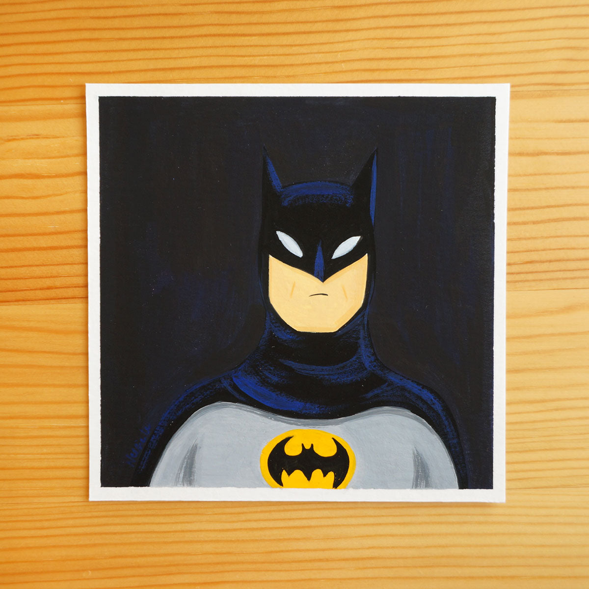 Batman - Mini Painting