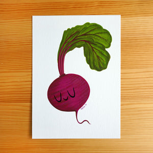 Beet - 5x7 Painting