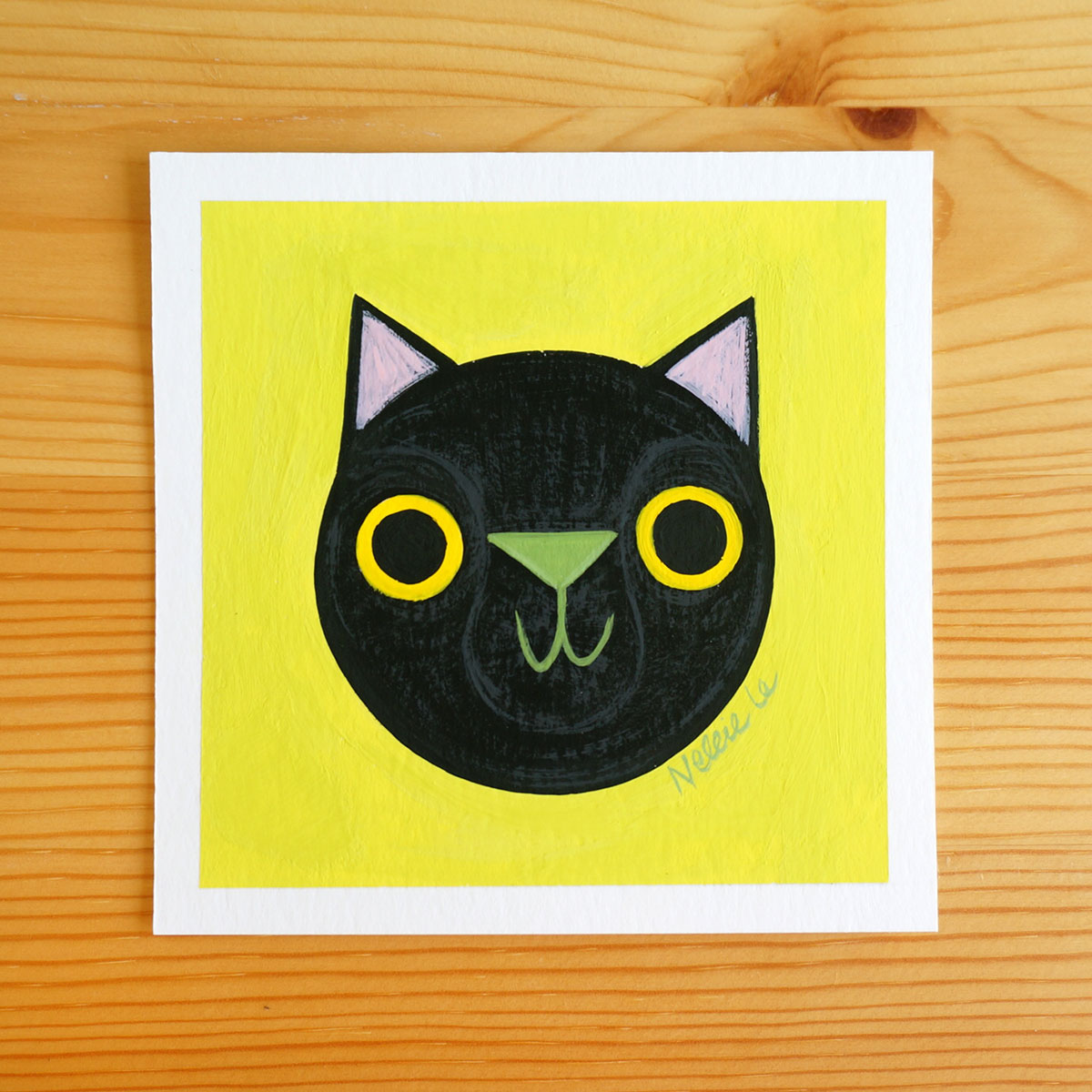 Black Cat 2 - Mini Painting