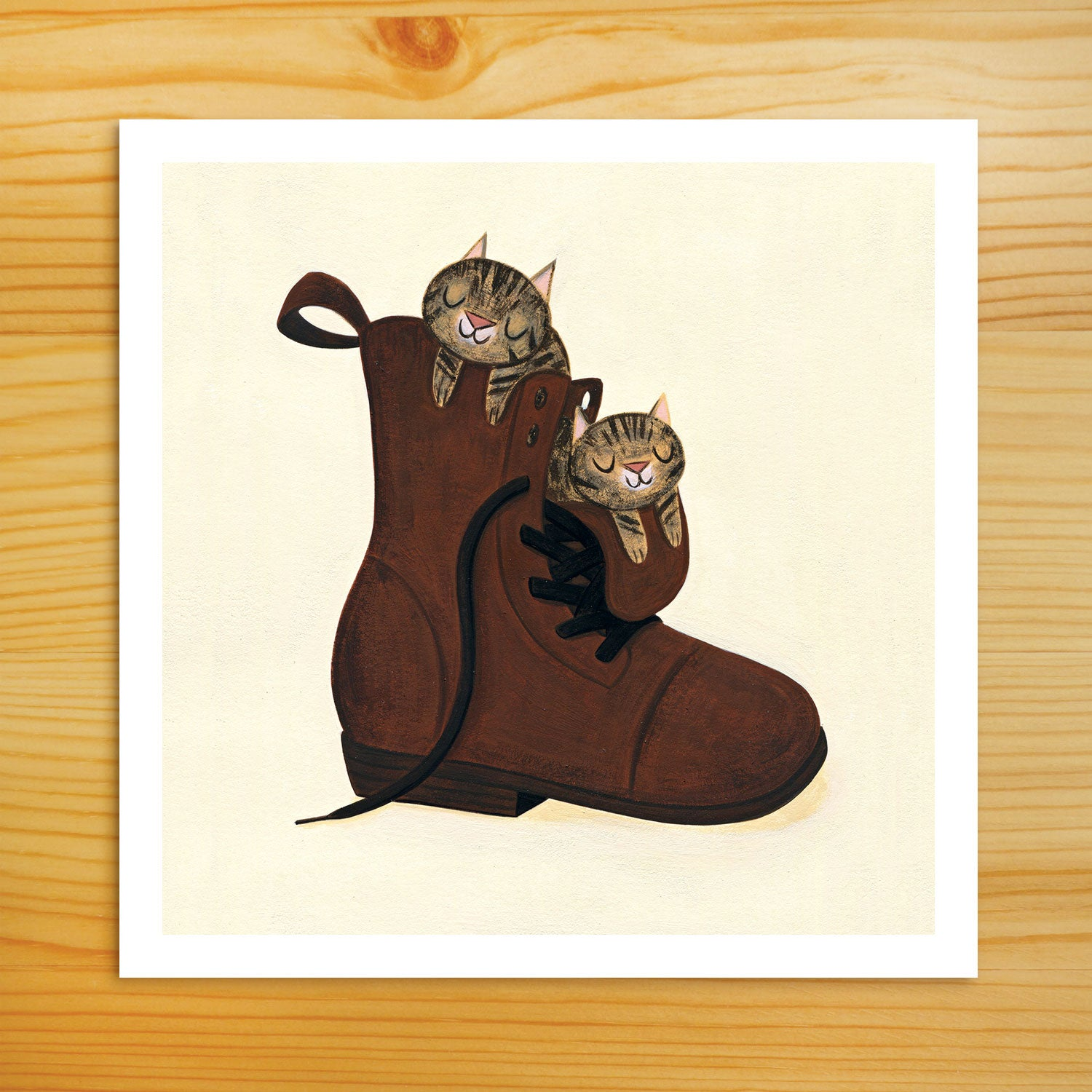 Boot Buddies - 5x5 Print