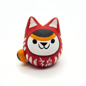 Daruma Cat - Calico Version