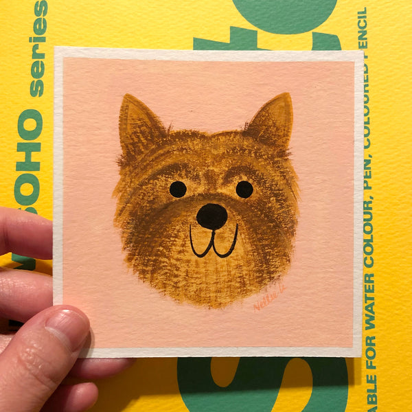 Custom Dog - Mini Painting