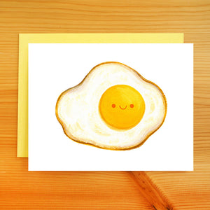 Fried Egg Card