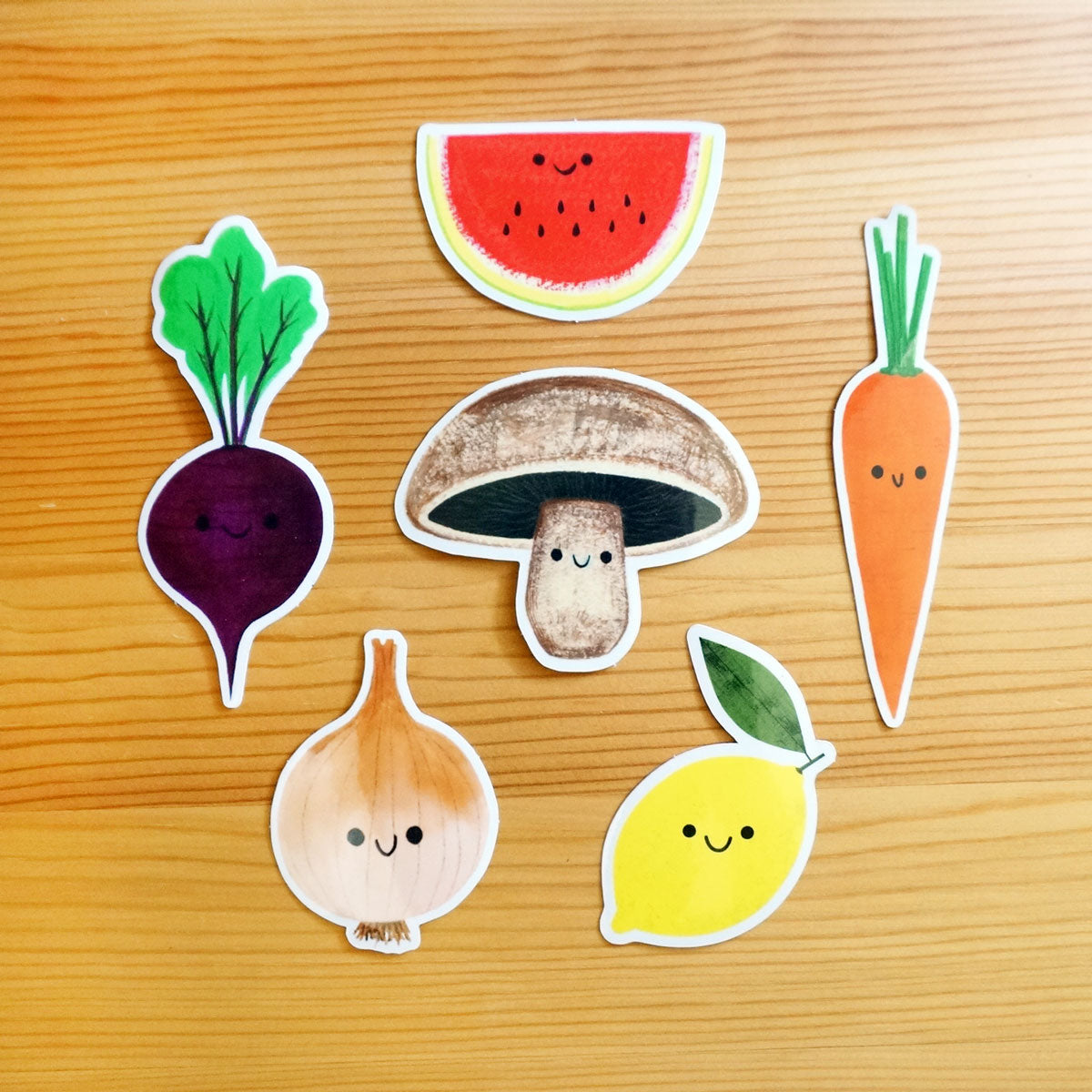 Farmers Market Sticker Pack
